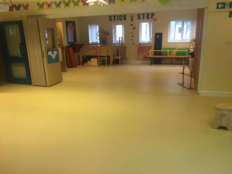 Decorative Resin Flooring in Community Centre
